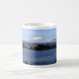Beautiful America: Mount Edgecomb in Alaska Classic White Coffee Mug
