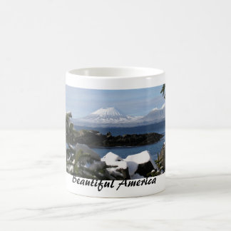 Beautiful America: Mount Edgecomb Classic White Coffee Mug