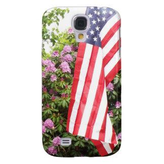 Beautiful American flag samsung case