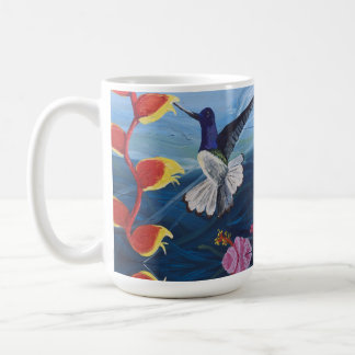 Beautiful and Colorful Hummingbird Mug