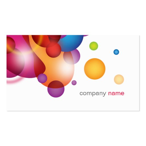 Beautiful and modern Business Card