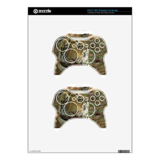 Beautiful and Smiling Tiger Xbox 360 Controller Skin