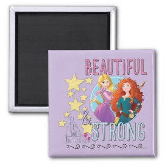 Beautiful and Strong 2 Inch Square Magnet