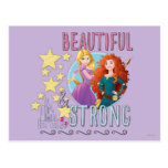 Beautiful and Strong Post Card