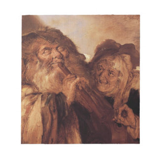 Beautiful and Ugly by Adriaen van de Venne Notepad