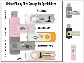 Beautiful and Unique Theme USB Drives