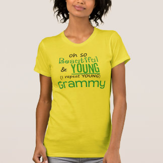 Beautiful and Young Grammy Shirt