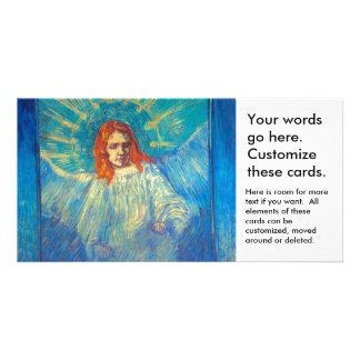 Beautiful Angel art glorious painting by Van Gogh Card