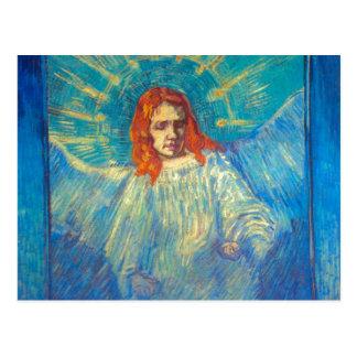 Beautiful Angel art glorious painting by Van Gogh Postcard