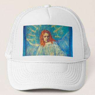 Beautiful Angel art glorious painting by Van Gogh Trucker Hat
