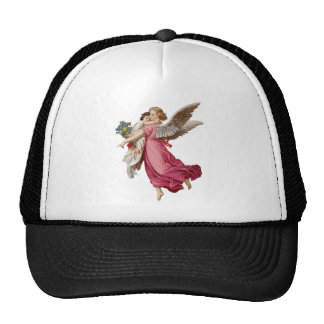 Beautiful Angel Cute Little Girl Trucker Hat