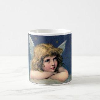 Beautiful Angel Etching Coffee Mug