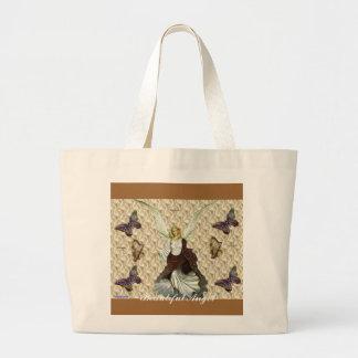 Beautiful Angel Large Tote Bag