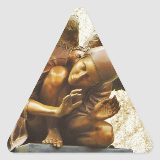 Beautiful Angel Triangle Sticker