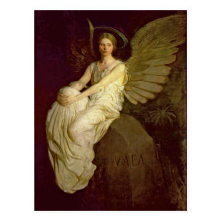 Beautiful Angel Vintage Postcard