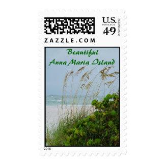 Beautiful Anna Maria Island Postage Stamp