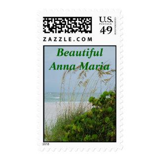 Beautiful Anna Maria Stamp
