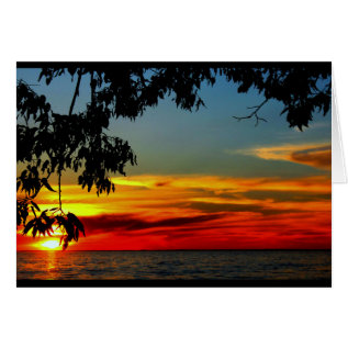Beautiful Anniversary From Sunrise To Sunset Card at Zazzle