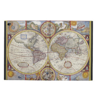 Beautiful Antique and Vintage old world Map Powis iPad Air 2 Case