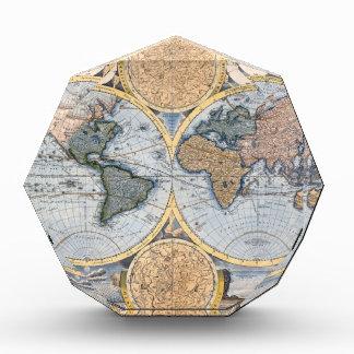 Beautiful Antique Atlas Map Award