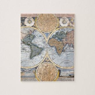 Beautiful Antique Atlas Map Jigsaw Puzzles