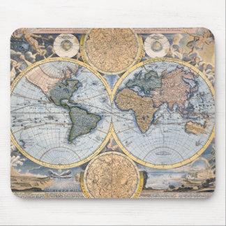 Beautiful Antique Atlas Map Mouse Pad