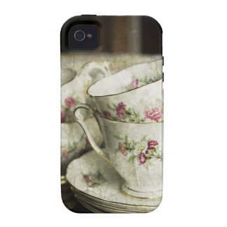 beautiful antique china cups vibe iPhone 4 case
