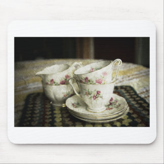 beautiful antique china cups mouse pads