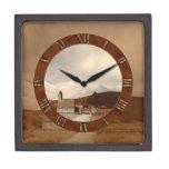 Beautiful Antique Church Grandfather Clock Gift Bo Premium Gift Box