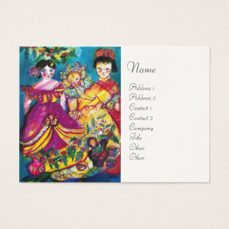 BEAUTIFUL ANTIQUE DOLLS BUSINESS CARD