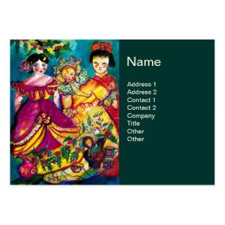 BEAUTIFUL ANTIQUE DOLLS BUSINESS CARD