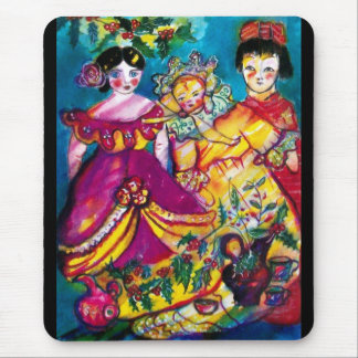 BEAUTIFUL ANTIQUE DOLLS MOUSE PAD