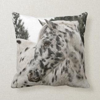 Beautiful Appaloosa Horse, Western Throw Pillow
