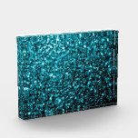 "Beautiful Aqua blue glitter sparkles Award<br><div class=""desc"">Beautiful girly glamorous light blue shiny glitters sparkles.  Photo of cyan blue sparkles not actual glitter!</div>"