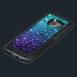 "Beautiful Aqua blue Ombre glitter sparkles OtterBox Samsung Galaxy S7 Case<br><div class=""desc"">Trendy OtterBox phone case:  Beautiful girly glamorous dark and light blue shiny glitters sparkles. Photo of cyan and dark blue sparkles not actual glitter!</div>"