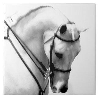 Beautiful Arabian Horse Head Ceramic Tile