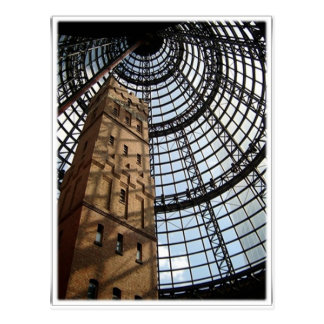 Beautiful Architecture -Melbourne city Postcard