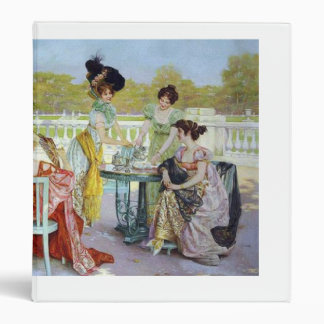 Beautiful Aristocratic Ladies' Regency Tea Party Binder