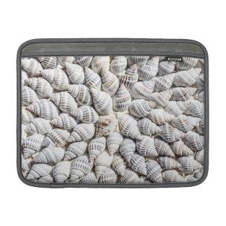 Beautiful arranges Shellfish MacBook Sleeve