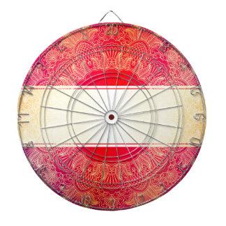 Beautiful,art nouveau,art deco,gold,hot pink dart boards