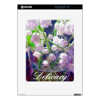 Beautiful Artistically Altered Lily of the Valley Skins For iPad
