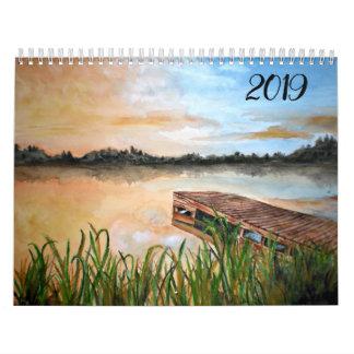 Beautiful Artwork - paintings - Calendar