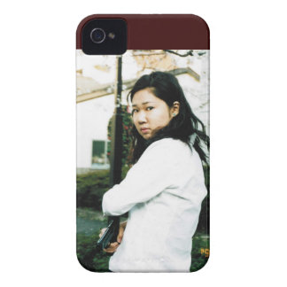 Beautiful Asian Action Woman iPhone 4 Case
