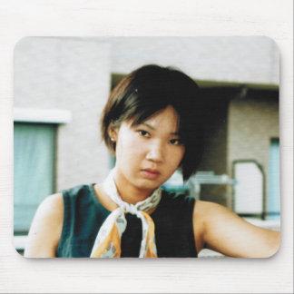 Beautiful Asian Girl Photo Mousepad