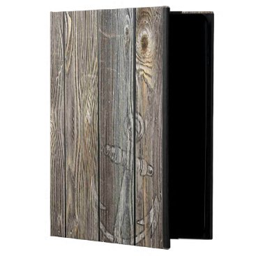 ECLECT Beautiful authentic looking wood cover for iPad air