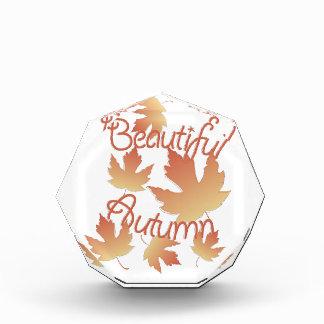 Beautiful Autumn Acrylic Award