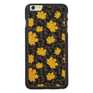 Beautiful autumn background carved maple iPhone 6 plus slim case