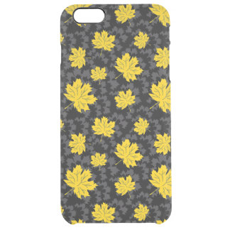 Beautiful autumn background clear iPhone 6 plus case