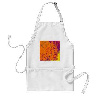 Beautiful Autumn Color Design Adult Apron