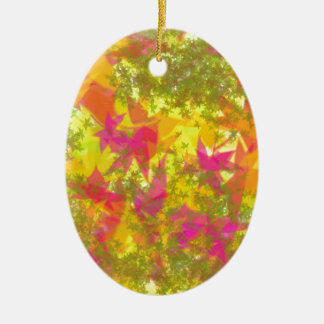 Beautiful Autumn Color Design Christmas Tree Ornaments